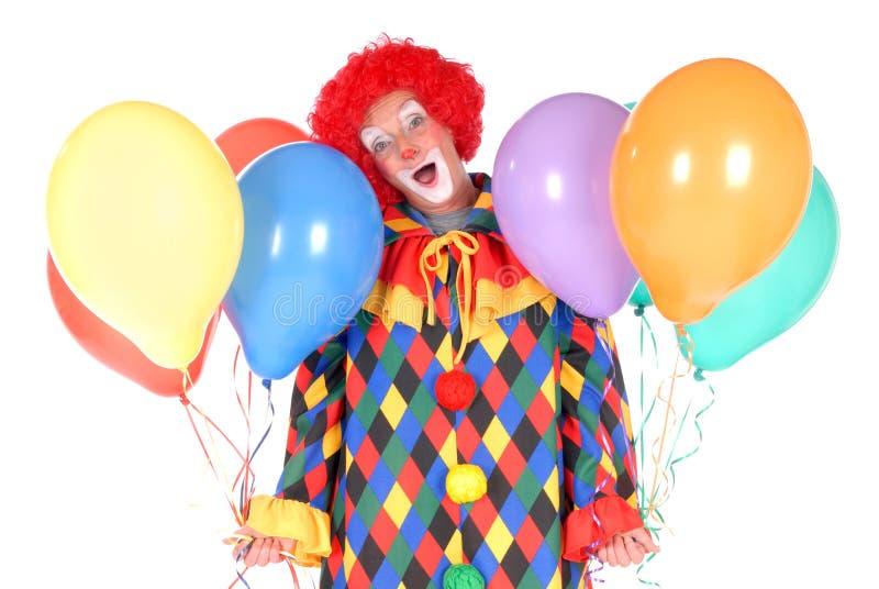 Clown, Halloween stock foto