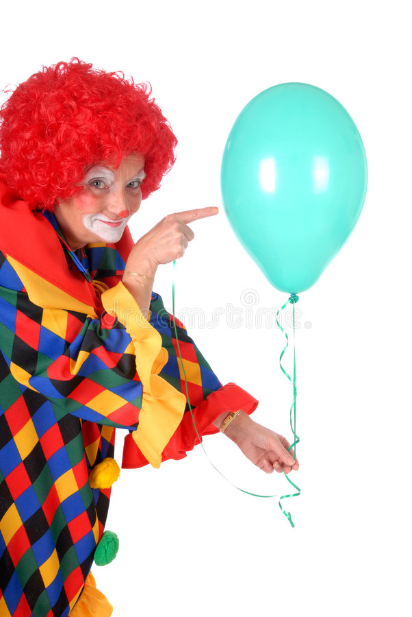 Clown, Halloween royalty-vrije stock foto's