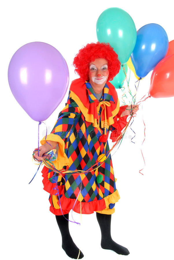 Clown, halloween royalty free stock photo