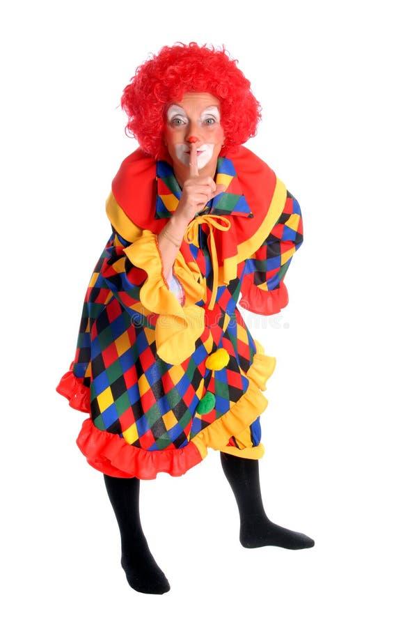 Clown, Halloween royalty-vrije stock foto