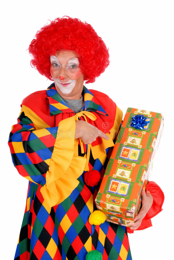 Clown, Halloween stock afbeeldingen