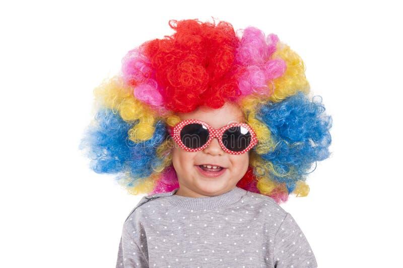 Clown heureux image stock