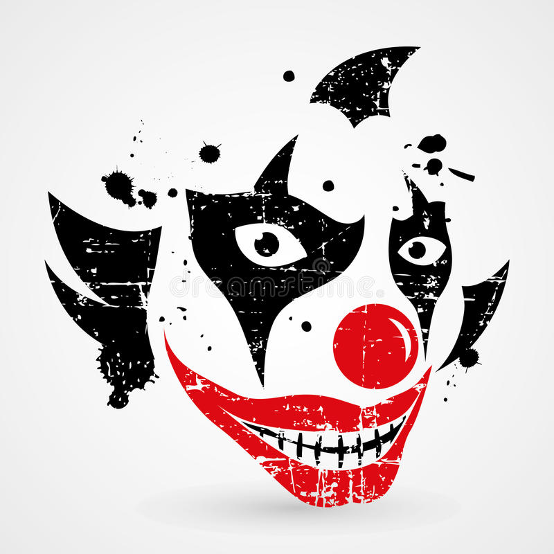 Download Clown stock vector. Illustration of halloween, crazy - 67367750