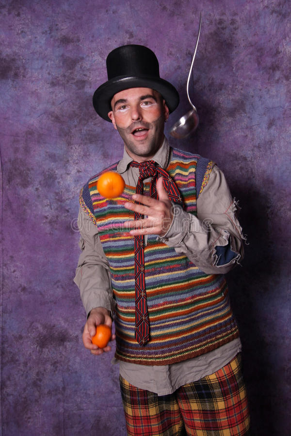 Download Clown joggling stock photo. Image of color, background - 28704708
