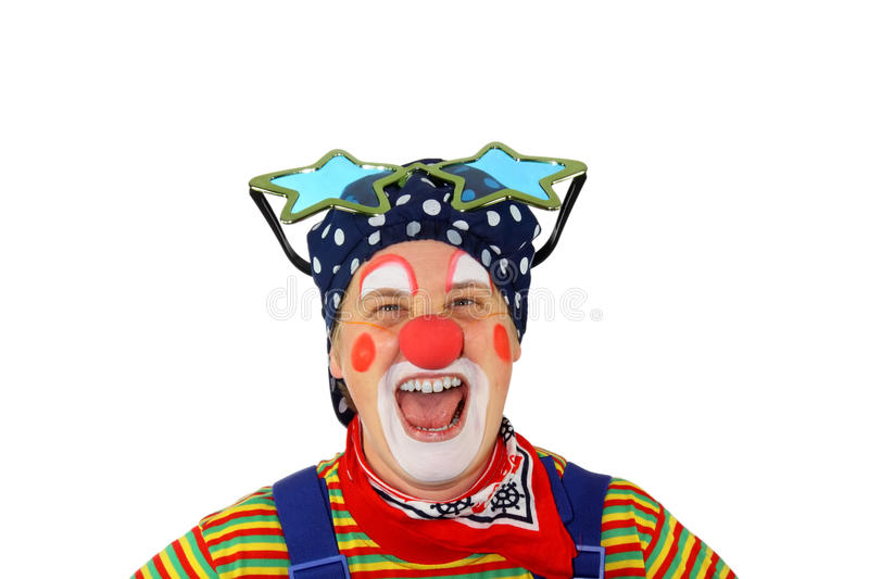 Download Clown is laughing stock photo. Image of performance, laughing - 16988128
