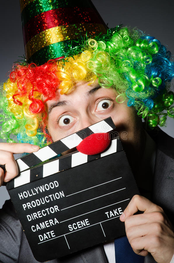 Download Clown stock photo. Image of clapper, clapboard, humor - 42204868