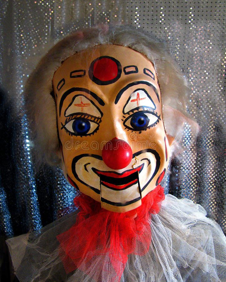 Clown Puppet photo libre de droits