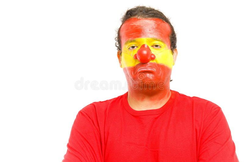Clown Spanish Supporter Stock Photos