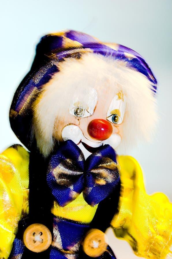 Clown toy stock photo