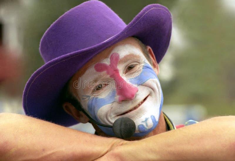 Clown Up Close stock photos