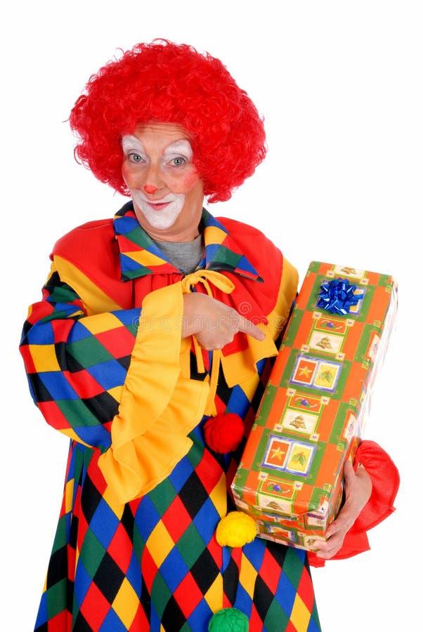 clown veille de la toussaint images stock