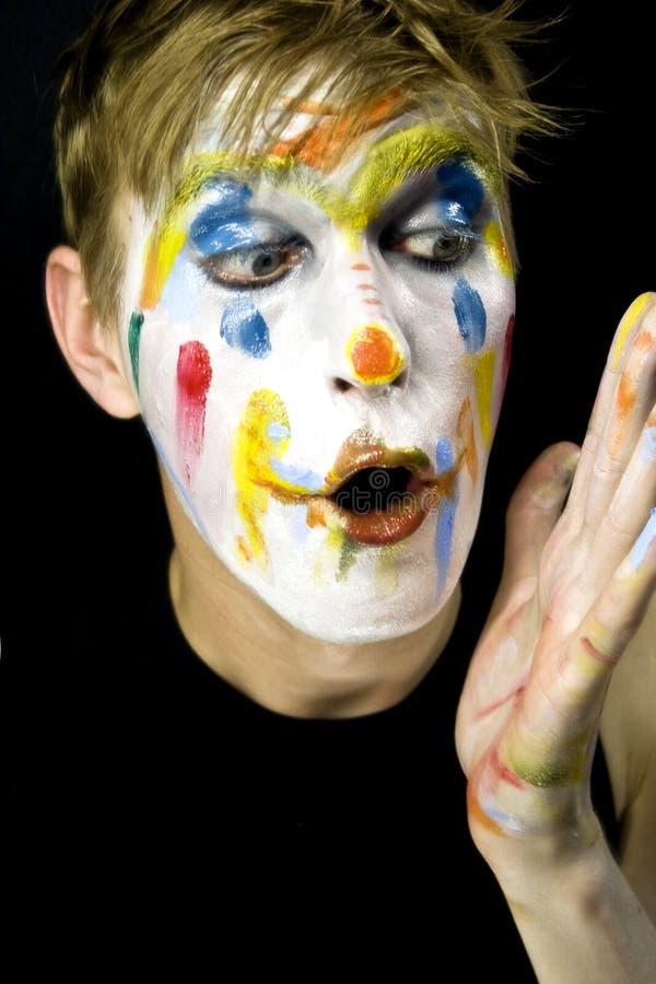 clown4 fotografia royalty free