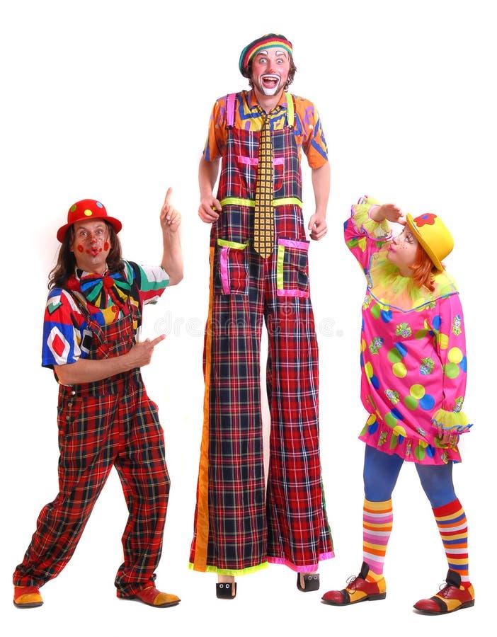 Clowne stockbilder