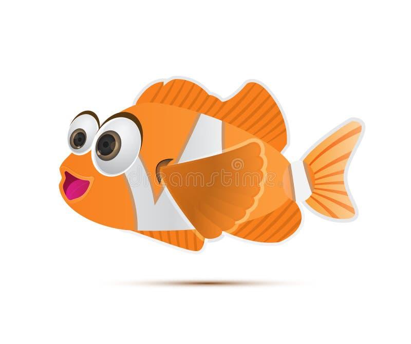 Clownfish ελεύθερη απεικόνιση δικαιώματος