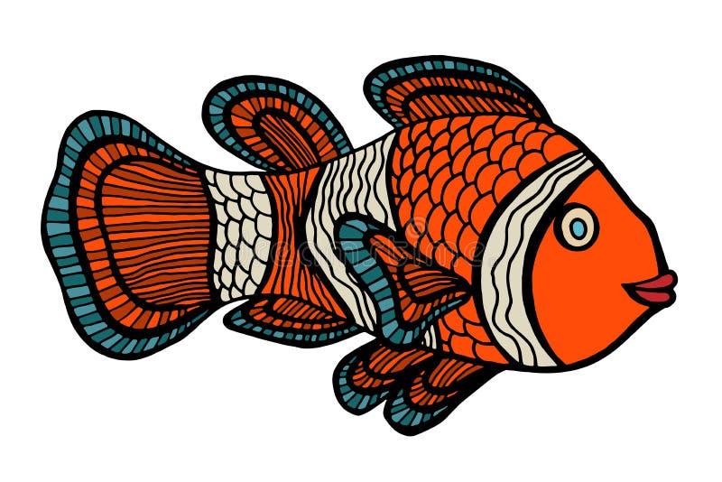 Clownfish ilustración del vector
