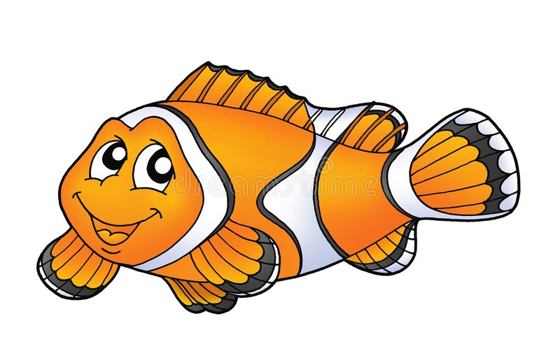 clownfish stock illustrationer