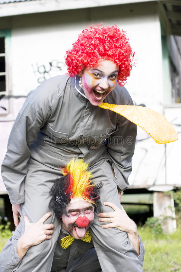 Download Clowning Around stock photo. Image of friends, happy - 16559698