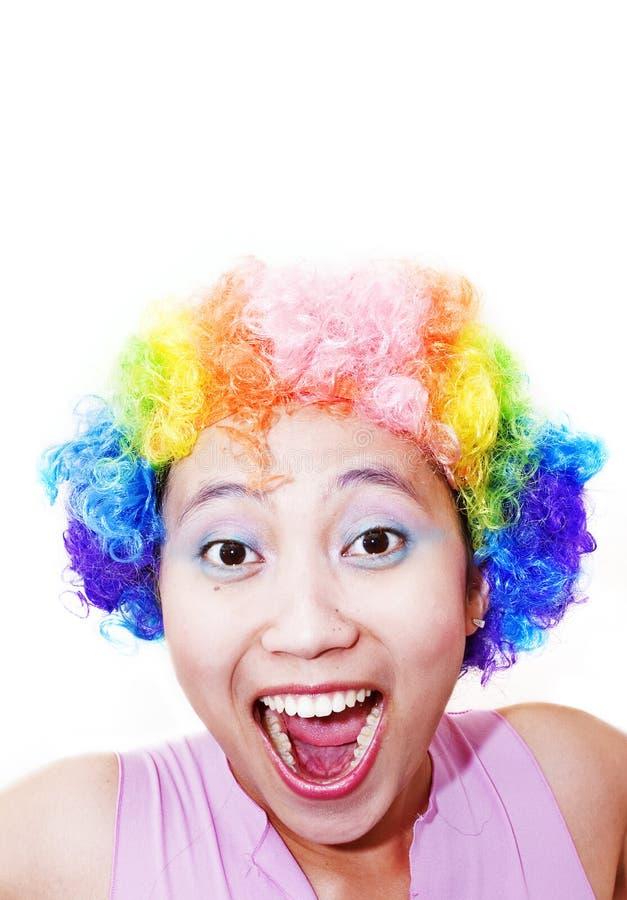 Clowning rond stock fotografie