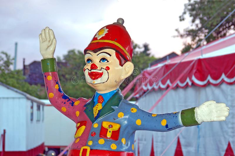 Clownpolis royaltyfria bilder