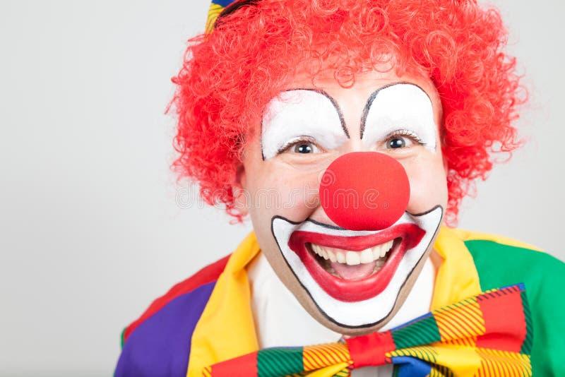 Clownportret stock foto's