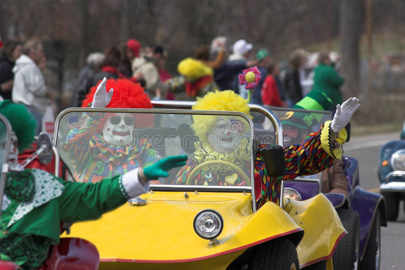 Download Clowns 1 stock photo. Image of make, entertaining, holiday - 610946