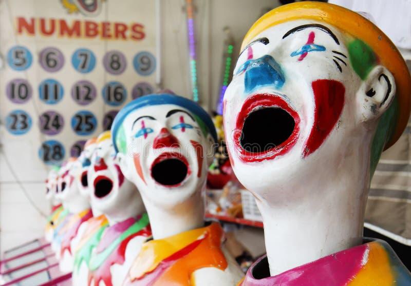 Clowns. stock afbeeldingen
