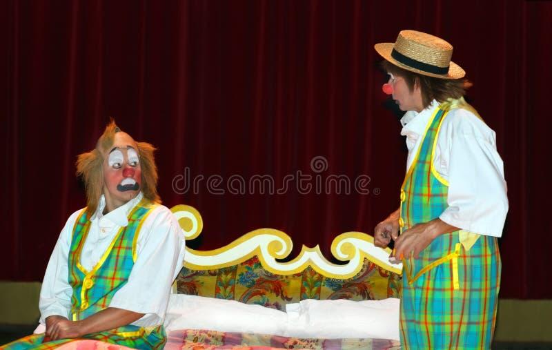 Clowns Redactionele Stock Foto