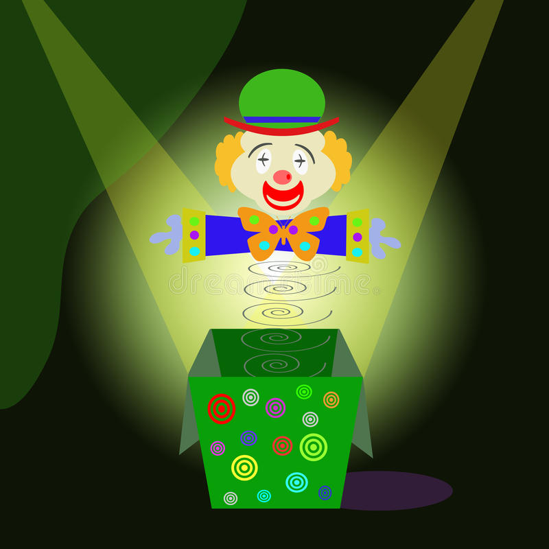 Download Clowns stock illustration. Illustration of clown, entertainment - 17274821