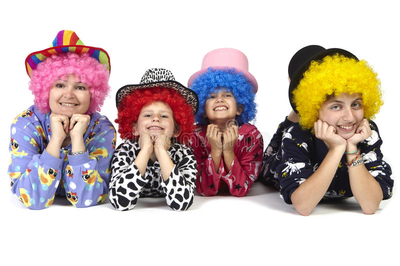 Download Clowns stock image. Image of costumes, emotion, humour - 19933483