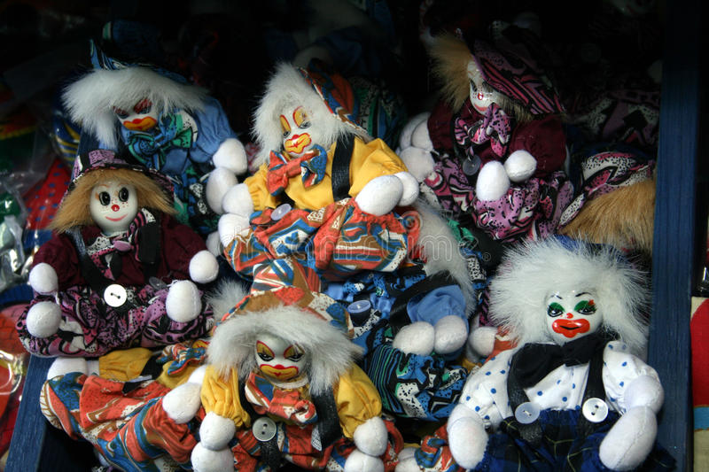 Download Clowns. stock image. Image of colorful, toys, beautiful - 22045883