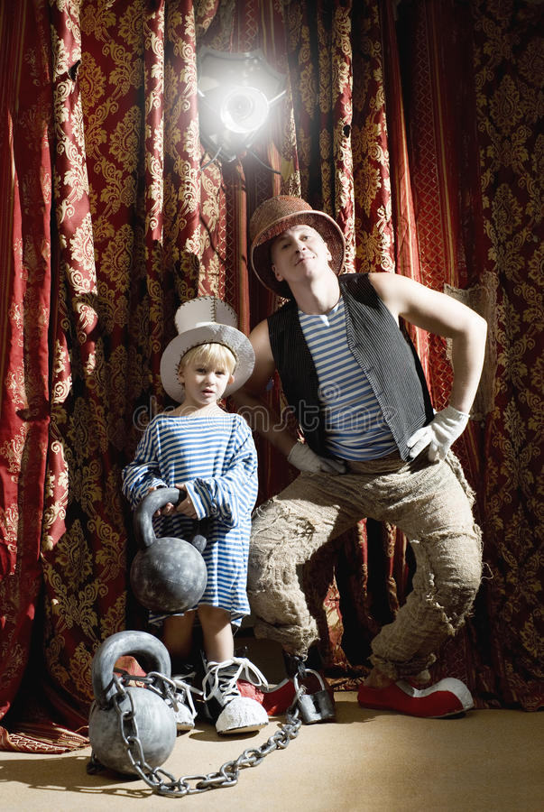 Download Clowns stock photo. Image of theater, dynasty, child - 27879672
