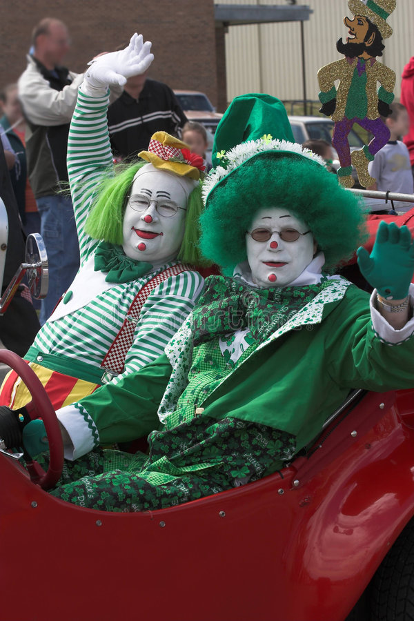 Download Clowns 3 stock image. Image of colorful, artist, characters - 610949