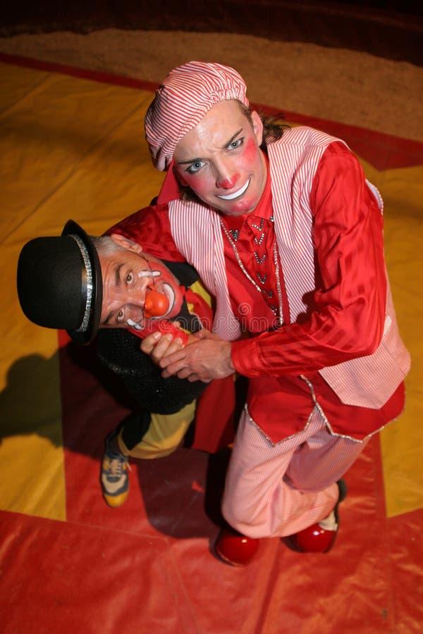 clowns de cirque photos stock