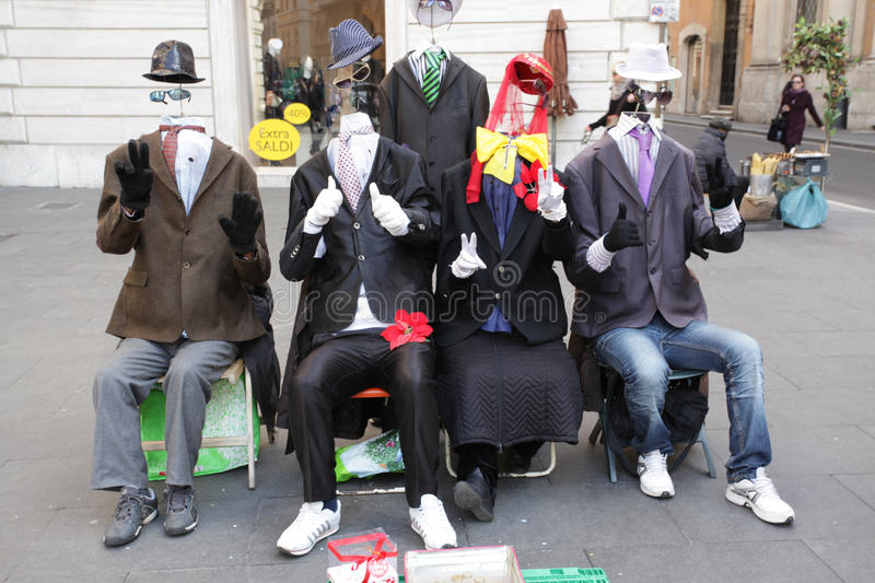Download Clowns on the street editorial image. Image of colorful - 29190965