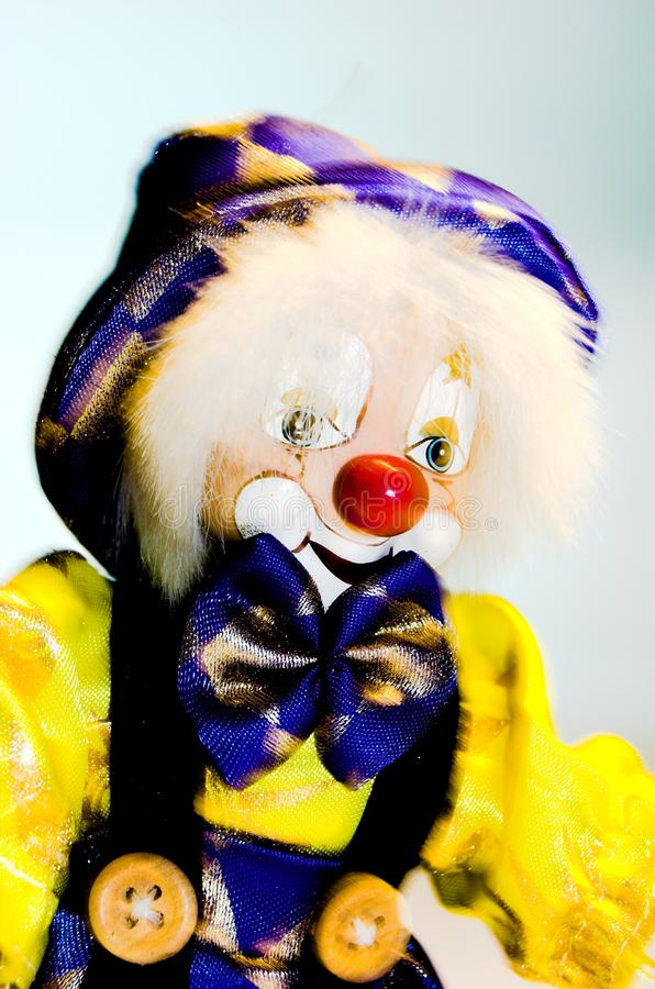 Clowntoy arkivfoto