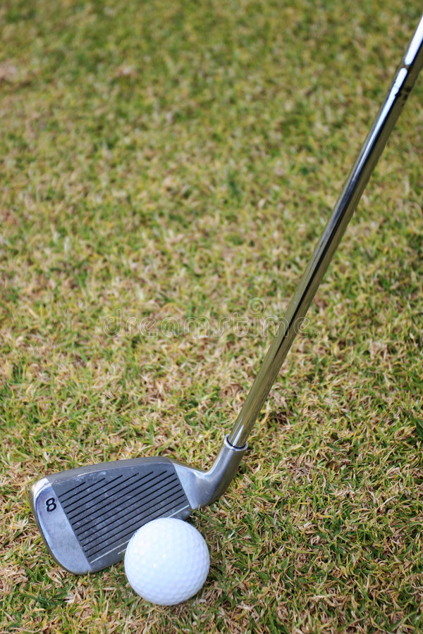Download Club and ball stock image. Image of ball, round, golf, play - 165765