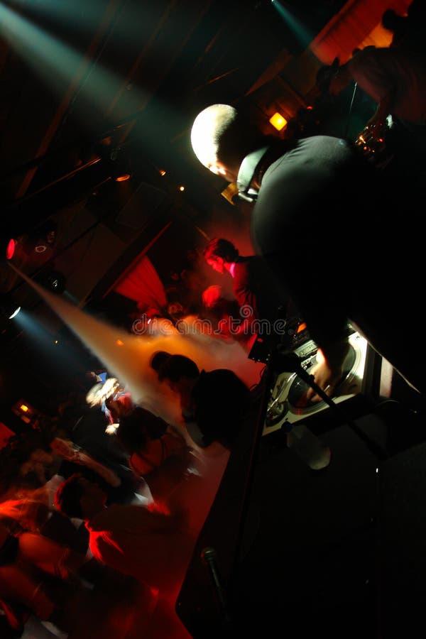 Club Crowd royalty free stock image