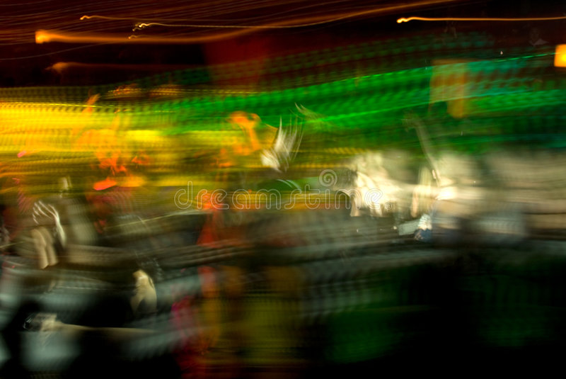 Club Crowd Abstract stock photography