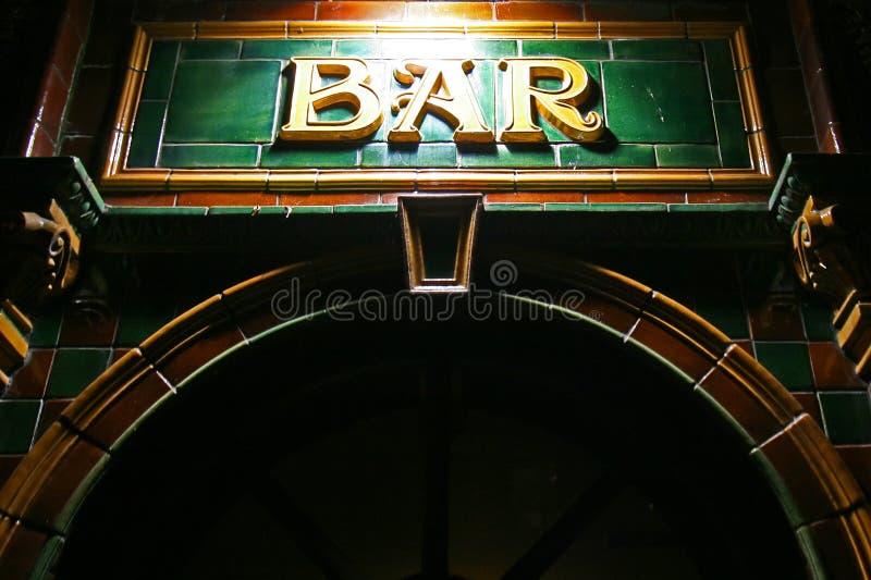Club de bar photographie stock