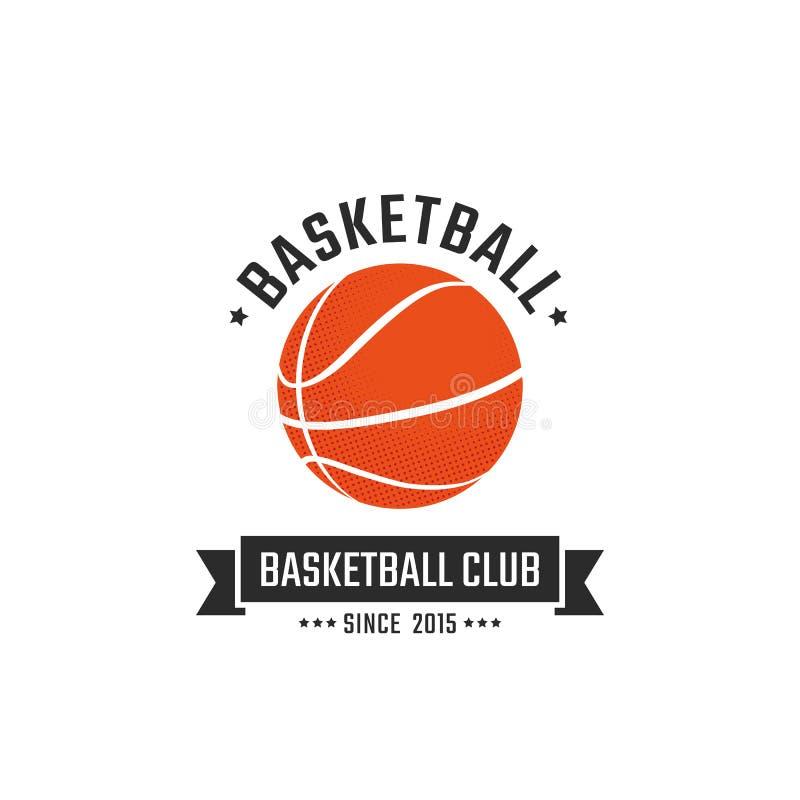 Club de basket-ball illustration libre de droits