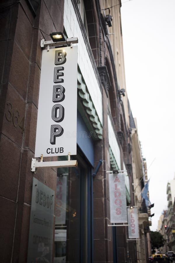 Club de be-bop image libre de droits