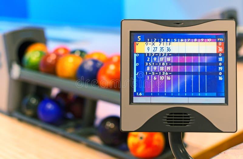 Club de bowling images libres de droits