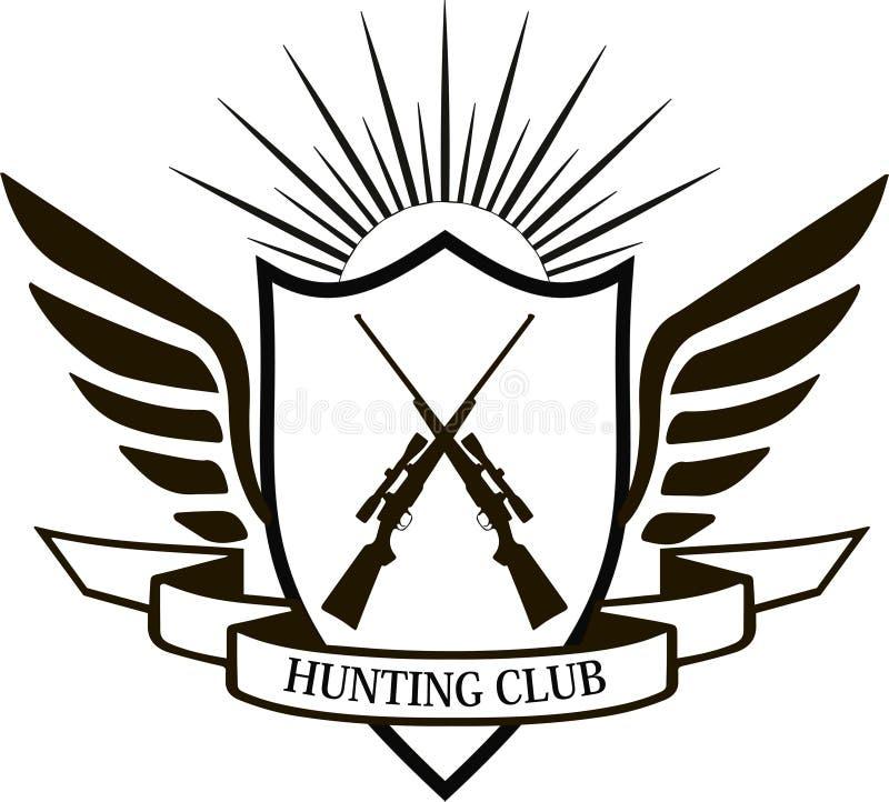 Club de chasse illustration libre de droits