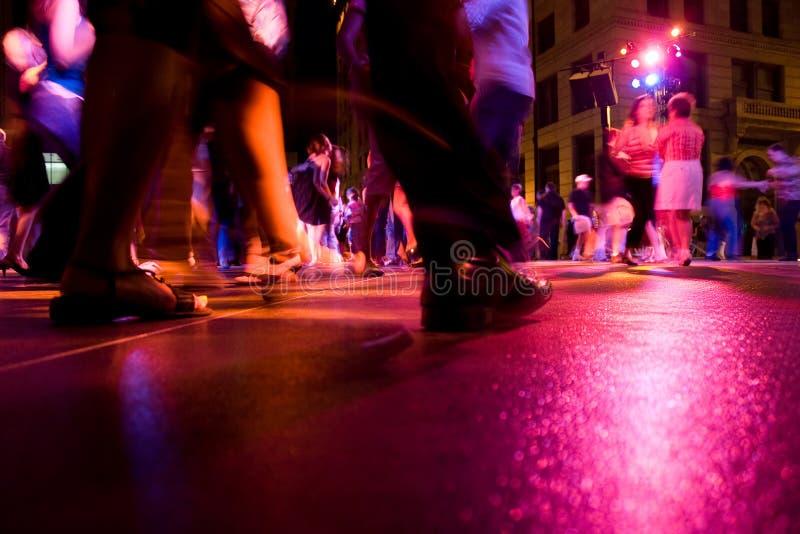 Club de danza fotografía de archivo libre de regalías
