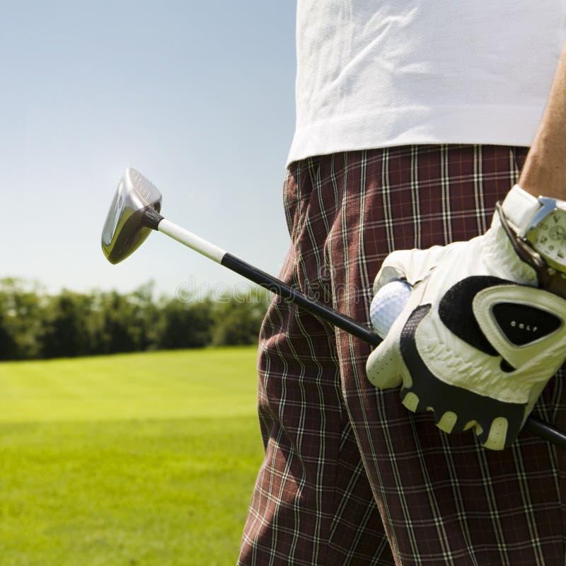 Club de golf fotografía de archivo libre de regalías