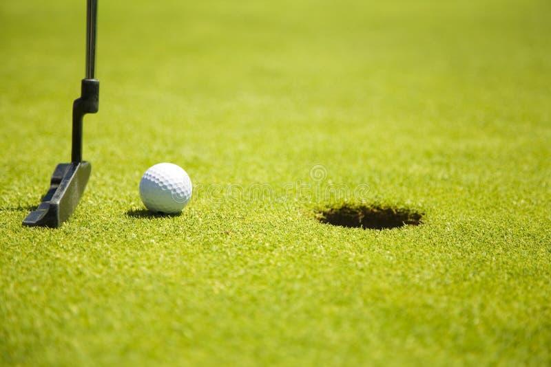 Club de golf foto de archivo libre de regalías