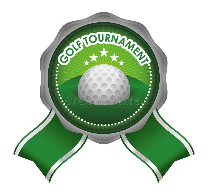 Club de golf stock de ilustración
