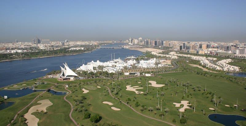 Club de golf d'émirats de Dubaï images stock