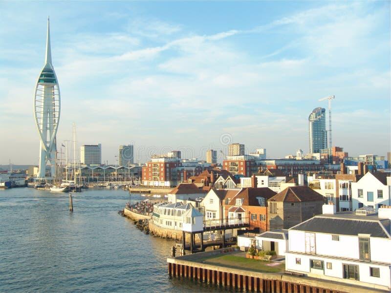 Club de la navegación de Portsmouth fotos de archivo libres de regalías