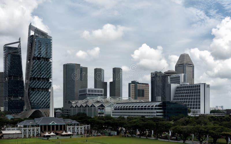 Club de Singapur y céntrico recreativos fotografía de archivo libre de regalías